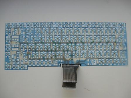 Клавиарура ноутбука в разобраном состоянии.